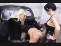 Femdom videos. Those men were not expecting to end up having sex in femdom style