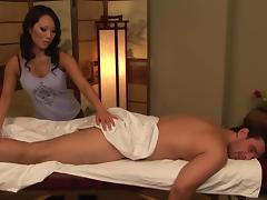 Asa Akira is riding on Manuel Ferrara's dick tube porn video