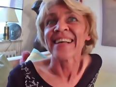 Horny Granny Just Craves Cock !