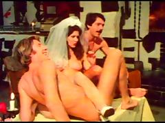 Bride, Bride, Hairy, Swingers, Wedding, Vintage