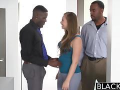 BLACKED Teen Jillian Janson Tries First Interracial Threesome tube porn video
