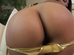 laurie guides a cock through her hairy bush