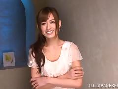 Slutty Airi Kijima gets fucked brutally by two guys