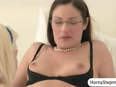 Chloe Foster 3some with milf n facialed tube porn video