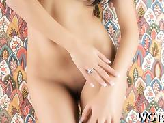 Adorable girl shows her flexibility tube porn video