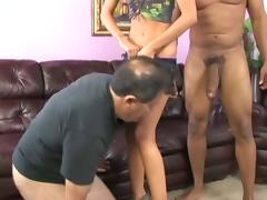 Blonde, Blonde, Cuckold, Interracial, Skinny, Big Black Cock
