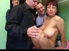 Aged russian breasty bumpers