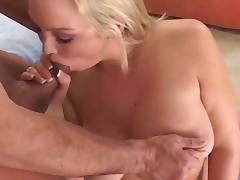 Abbey Brooks sucks a big hard dick tube porn video