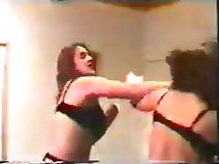 Lingerie & Stockings Catfight porn tube video