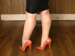 Boots, Amateur, Boots, Heels, Legs, Nylon