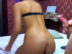 Anal banging during sexy chat