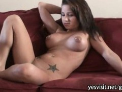 Massive boobs brunette girlfriend pussy banging caught on tape porn tube video