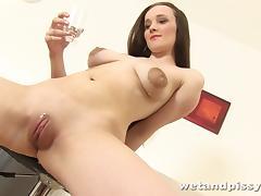 Charming Nancy Masturbates In A Hot Solo Model Video tube porn video