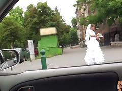 Rejected bride Amirah fucked a stranger tube porn video