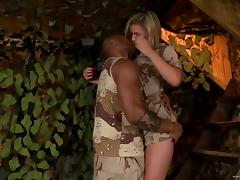 White Girl Gets Her Pussy and Face Fucked by a Hung Black Guy