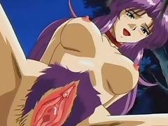 Anime, Anime, Big Tits, Couple, Creampie, Hentai