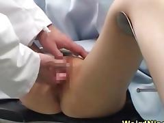 Doctor, Asian, Couple, Doctor, Fetish, Fingering