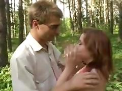 Russian, Amateur, Blowjob, Group, Orgy, Outdoor