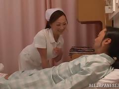 Spectacular Azusa Ishihara Goes Hardcore With A Hospital's Paitient