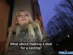 PublicAgent: Stunning blonde, stunning reality sex