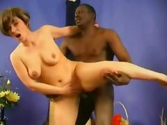 Aged, Aged, Black, Ebony, Interracial, Mature