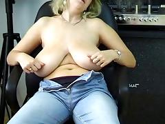 Girl with big tits
