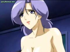 Anime lesbians with white stockings porn tube video