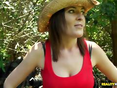 MilfHunter - The great outdoors tube porn video