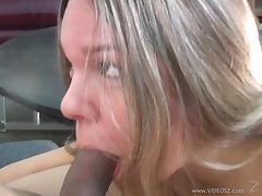 Naughty Blonde Whore Craves Cum In Her Mouth Right Away