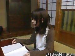 Haru Sakuragi Asian babe gets hot sex