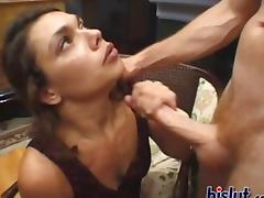 Choking, Amateur, Big Cock, Blowjob, Choking, Deepthroat