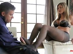 Brianna Brooks Shares A Foot Fetish With Mick Blue porn tube video