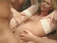 Horny nurses taking care of a lucky guy