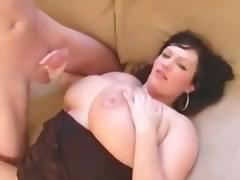 Sultry BBW in Crotchless Panties Fucked tube porn video