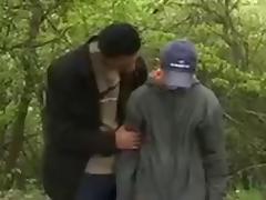Sissy fuck in the park! tube porn video