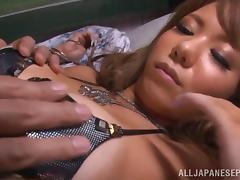 Asuka Hoshino lovely and lustful Asian milf gets creamed