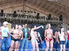 wild and so fucking hot contest from iowa biker rally tube porn video