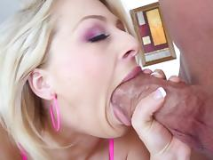 Young blonde Zoey Monroe is sucking tube porn video