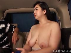 Chubby Japanese Amateur Aroused As He Sucks Her Natural Tits porn tube video