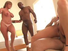 Black, Anal, Black, Blonde, Ebony, Foursome