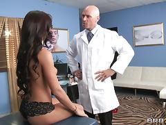 Rahyndee James is fucked silly by her gynecologist tube porn video