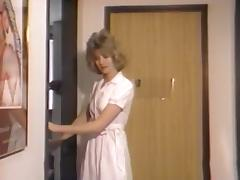 Kinky nurse drilled in all poses