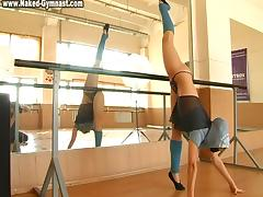 Anna Muhina - Gymnastic Video part 2 tube porn video