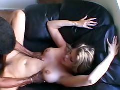 Interracial fucking with blonde Bree
