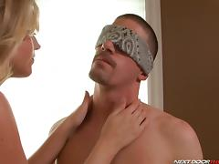 Big Cock, Big Cock, Blindfolded, Blowjob, Erotic, HD