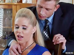 Sexy ladies sucks and fuck big cocks in different scenes