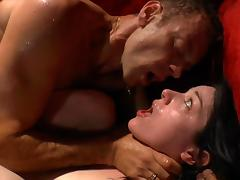 Rough, Anal, Assfucking, Brunette, Drilled, Rough