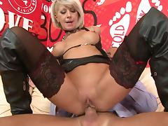 Boots, Anal, Blonde, Blowjob, Boots, Couple