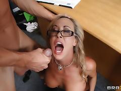 Mr. Sins fucks principal Brandi Love after class tube porn video