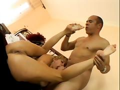 Phyllisha Anne Loves The Cum On Her Feet